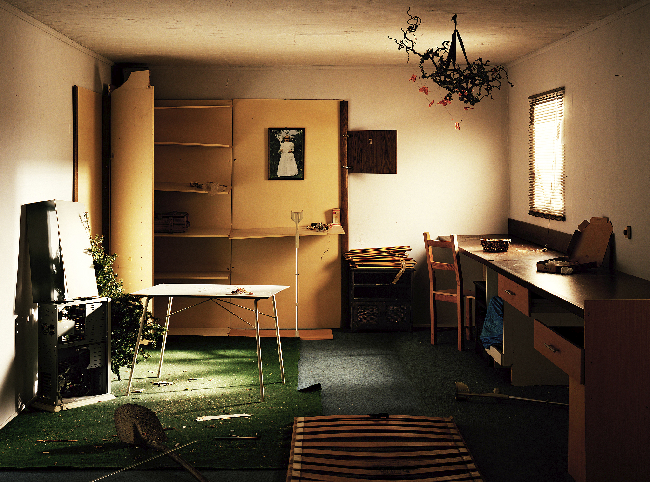 Ralph Schulz Reconstruction of unknown interiors – SPACES